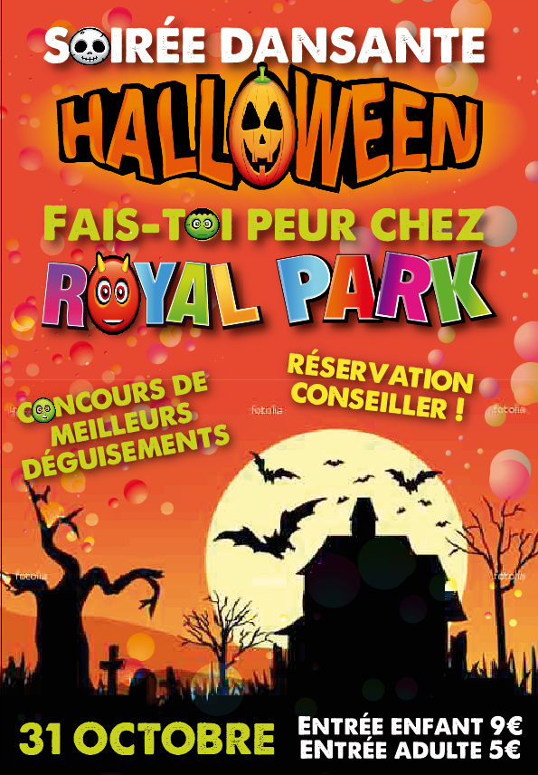Royal Park Halloween soirée dansante