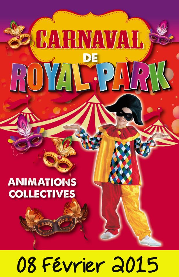 Carnaval Royal Park Dimanche 08 Février 2015