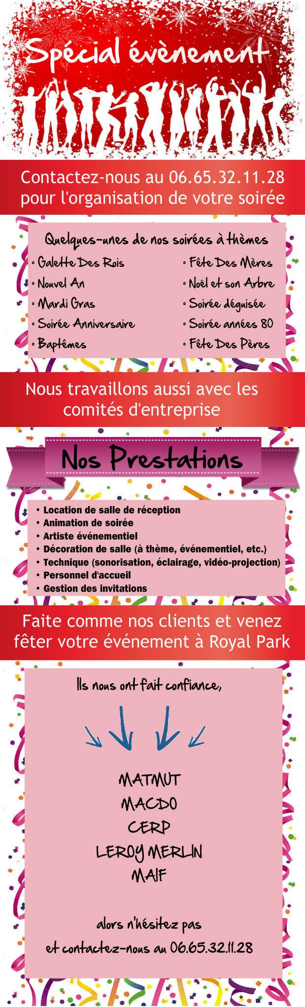 Royal Park Événement pour tous Nimes