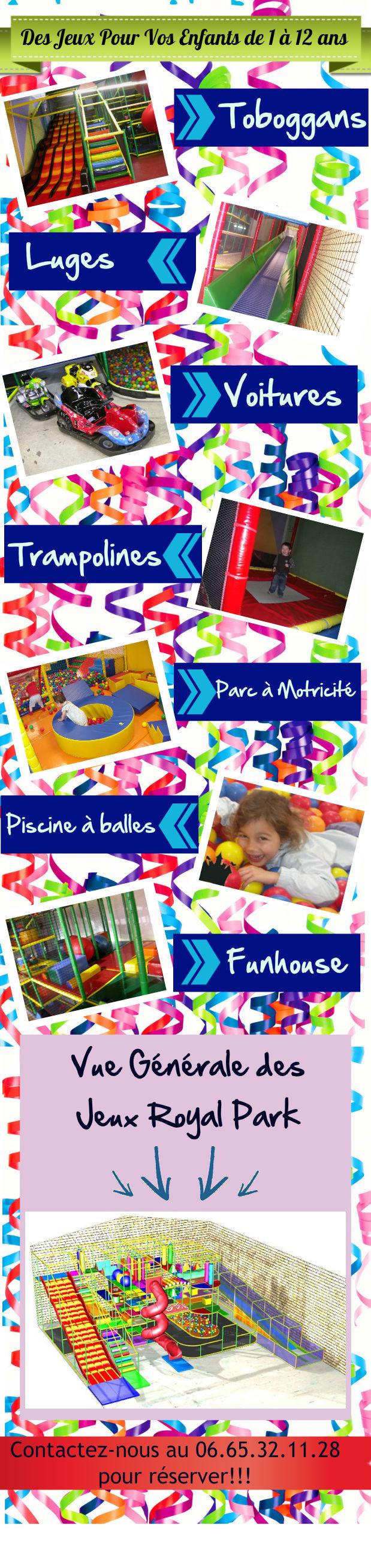 Royal Park Jeux pour enfants Nimes