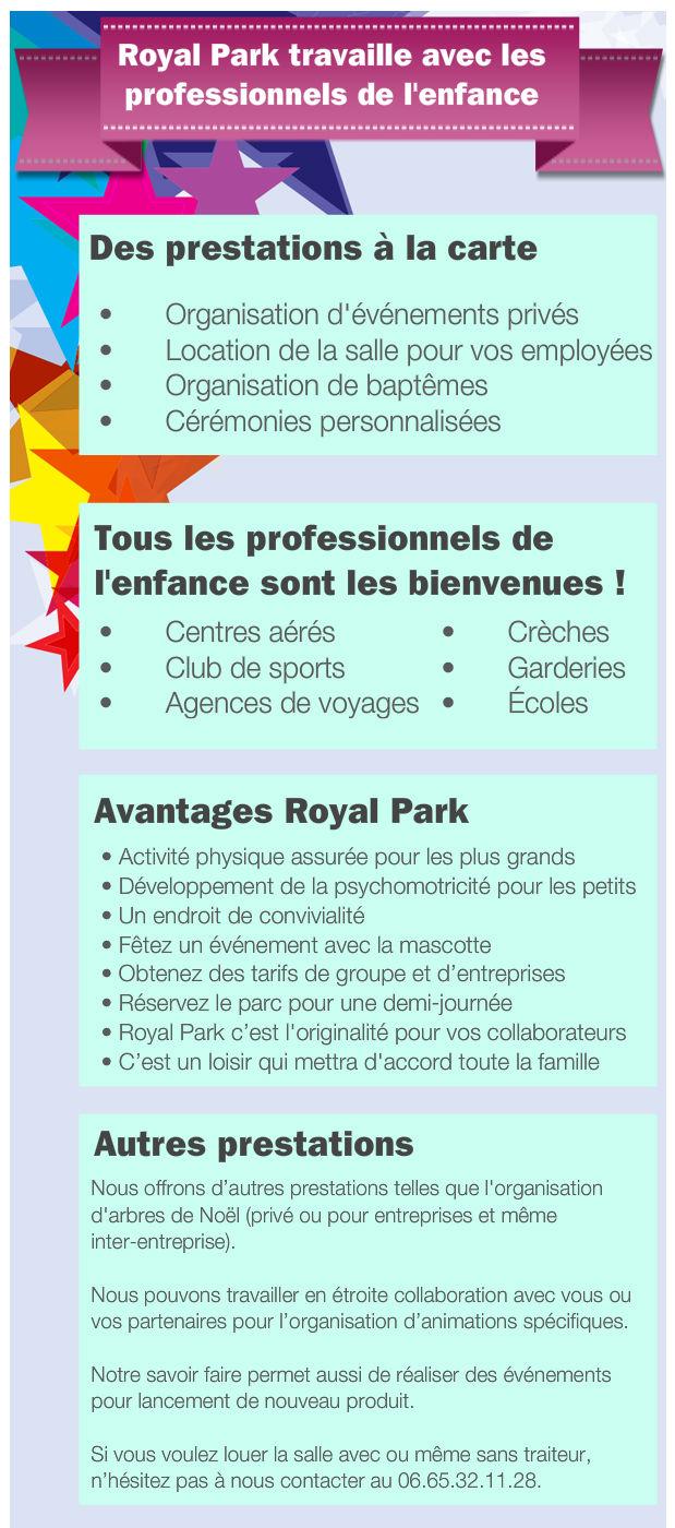 Royal Park offre professionnel Nimes
